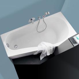 Keramag Renova Nr.1 Comprimo Raumspar Badewanne, links weiß