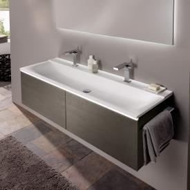 Doppelwaschbecken mit unterschrank 140  Doppelwaschtisch » Doppelwaschbecken kaufen bei REUTER