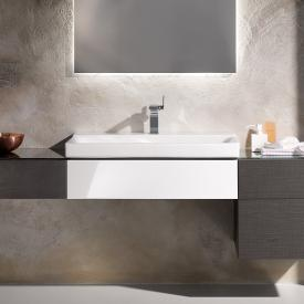 Keramag Xeno² Waschtischunterschrank mit 1 Auszug Front weiß hochglanz/Korpus weiß hochglanz