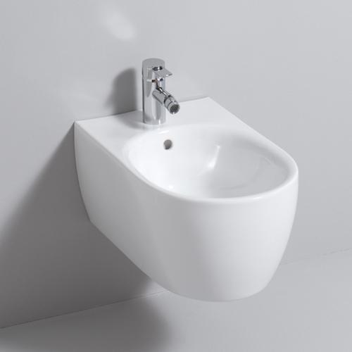 keramag 4 u wand bidet wei mit keratect 233450600 reuter. Black Bedroom Furniture Sets. Home Design Ideas