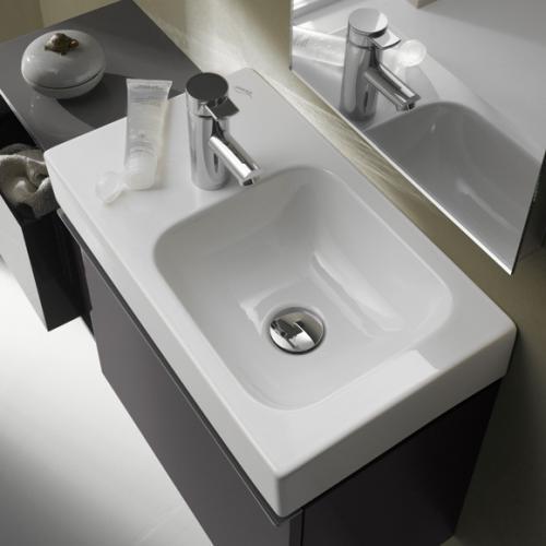 keramag icon xs handwaschbecken wei mit keratect 124153600 reuter. Black Bedroom Furniture Sets. Home Design Ideas