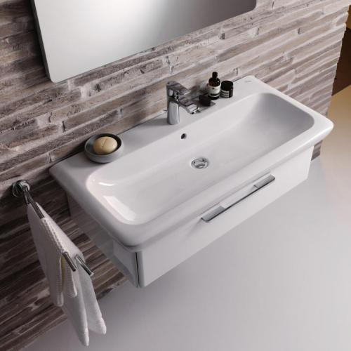 keramag it waschtisch wei mit 1 hahnloch mit berlauf 121900000 reuter. Black Bedroom Furniture Sets. Home Design Ideas