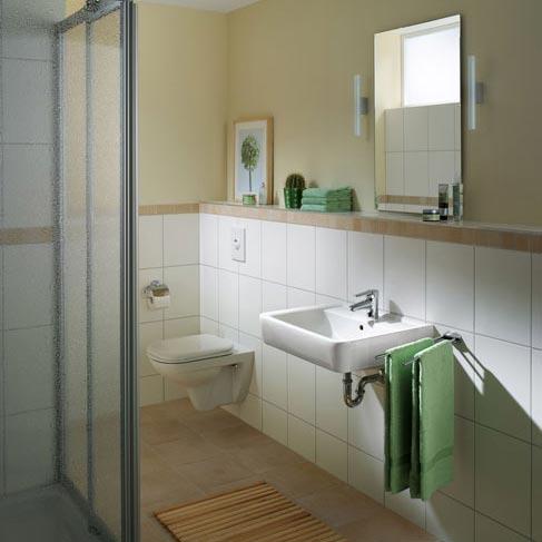 keramag renova nr 1 plan waschtisch wei mit 1 hahnloch mit berlauf 222265000 reuter. Black Bedroom Furniture Sets. Home Design Ideas