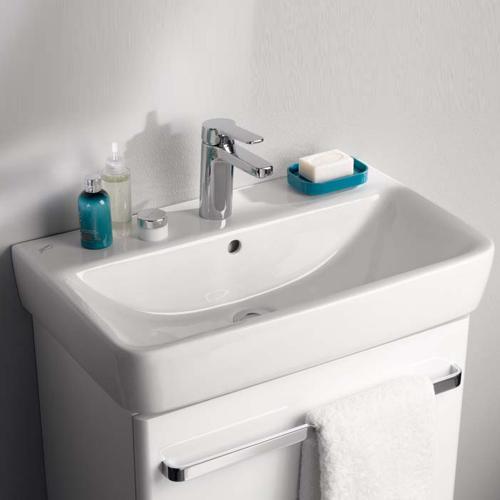 keramag renova nr 1 comprimo waschtisch wei mit keratect 226160600 reuter. Black Bedroom Furniture Sets. Home Design Ideas
