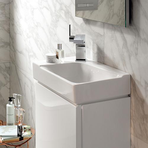 keramag xeno handwaschbecken wei 127040000 reuter. Black Bedroom Furniture Sets. Home Design Ideas
