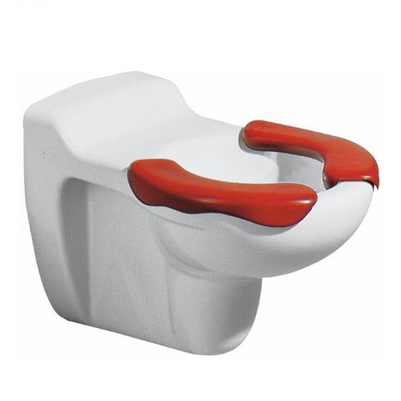 Geberit Bambini Wand-Tiefspül-WC mit Sitzfläche weiß/rot