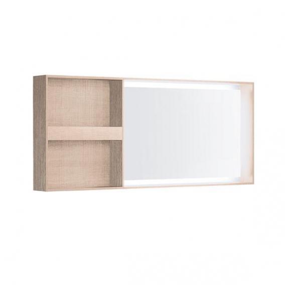 Geberit Citterio Lichtspiegelelement mit Ablagefach naturbeige/verspiegelt