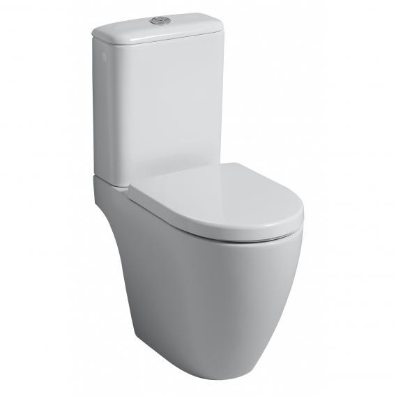 Geberit iCon Keramik-Spülkasten, Zulauf seitlich links/rechts weiß
