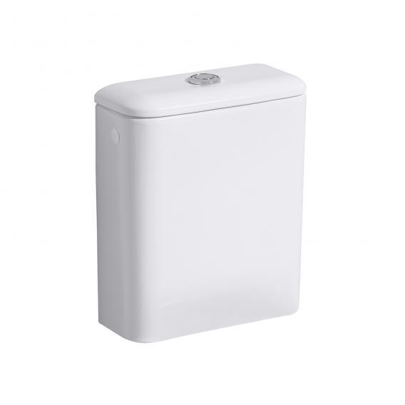 Geberit iCon Square Spülkasten, 6 l, Zulauf seitlich, mit Zweimengenspülung weiß mit Keratect