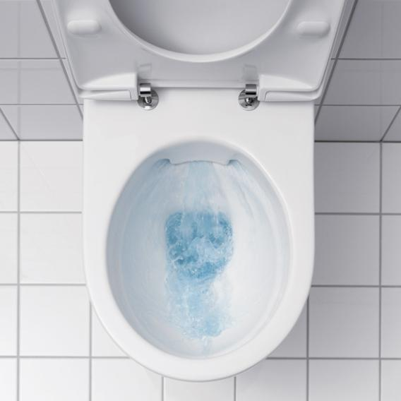 Geberit iCon Wand-Tiefspül-WC, Ausführung kurz ohne Spülrand, weiß, mit KeraTect
