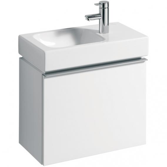 Geberit iCon Handwaschbecken-Unterschrank mit 1 Auszug Front und Korpus Alpin hochglanz