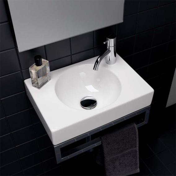 Geberit Preciosa II Handwaschbecken weiß, mit KeraTect