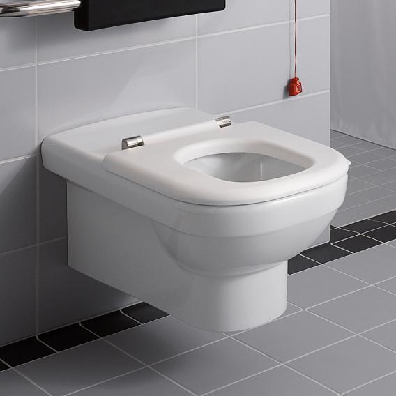 Geberit Renova Comfort Wand-Flachspül-WC weiß
