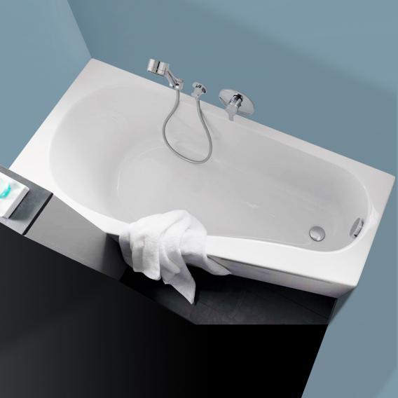 Geberit Renova Compact  Raumspar-Badewanne weiß