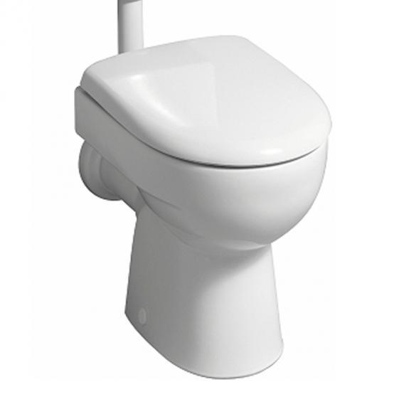 Geberit Renova Flachspülstand-WC, 6 l, freier Zulauf weiß
