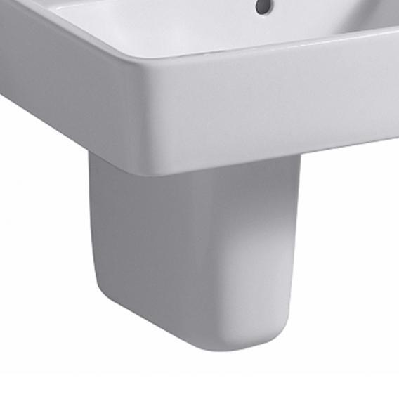 Geberit Renova Plan Halbsäule für Handwaschbecken weiß
