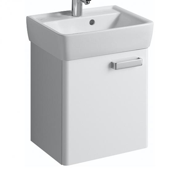 Geberit Renova Plan Handwaschbecken-Unterschrank Korpus weiss Front weiss hochglanz