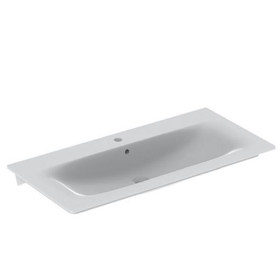 Geberit Renova Plan Möbel-Waschtisch weiß, mit KeraTect