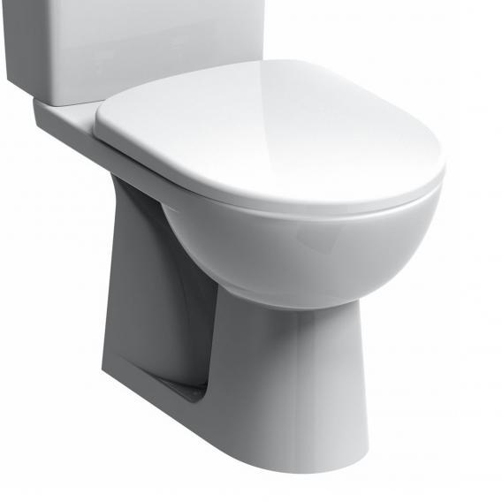 Geberit Renova Stand-Tiefspül-WC für Kombination weiß, Abgang senkrecht