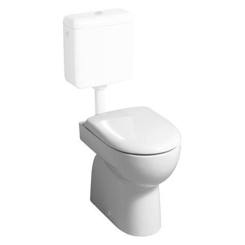 Geberit Renova Stand-Tiefspül-WC weiß, mit KeraTect