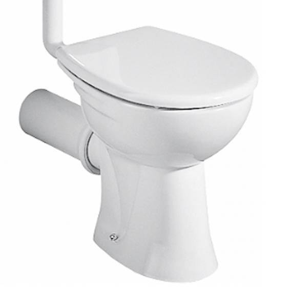 Geberit Renova Tiefspül-WC, 6 l, bodenstehend weiß, mit KeraTect