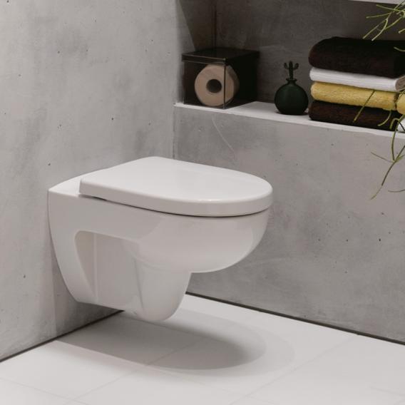 Geberit Renova Wand-Tiefspül-WC mit Spülrand, weiß