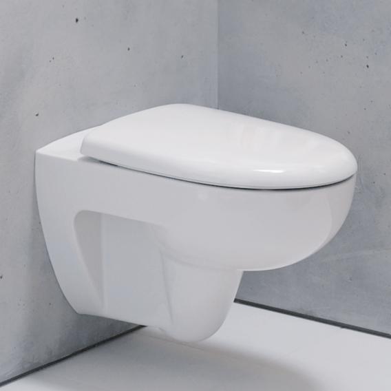 Geberit Renova Wand-Tiefspül-WC ohne Spülrand, weiß, mit KeraTect