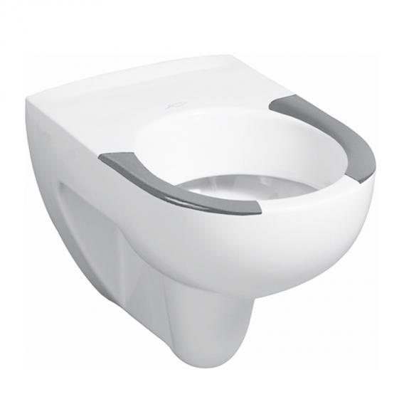 Geberit Renova Wand-Tiefspül-WC mit Sitzflächen weiß