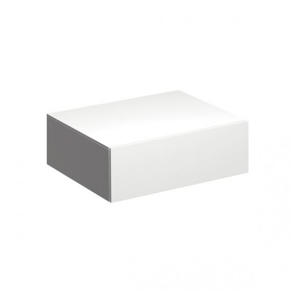 Geberit Xeno² Seitenschrank Front weiß hochglanz/Korpus weiß hochglanz