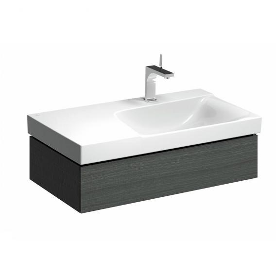 Geberit Xeno² Waschtischunterschrank mit 1 Auszug Front scultura grau/Korpus scultura grau