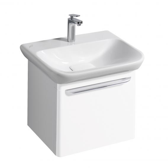 keramag myday waschtischunterschrank mit 1 auszug front und korpus wei hochglanz y824060000. Black Bedroom Furniture Sets. Home Design Ideas