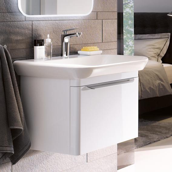 keramag myday waschtischunterschrank mit 1 auszug front und korpus wei hochglanz y824080000. Black Bedroom Furniture Sets. Home Design Ideas