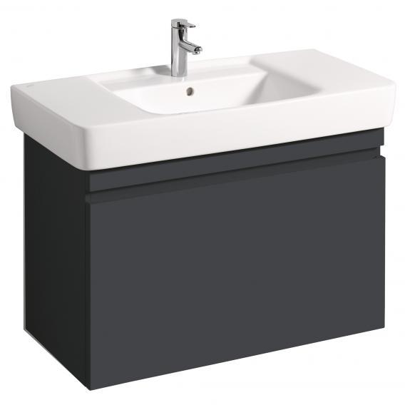 keramag renova nr 1 plan waschtischunterschrank mit 1 auszug front und korpus lava matt. Black Bedroom Furniture Sets. Home Design Ideas