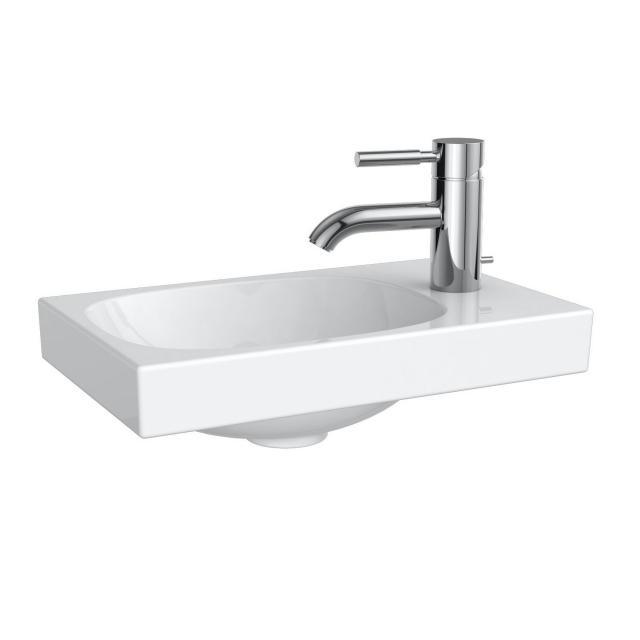 Geberit Acanto Handwaschbecken weiß, mit KeraTect