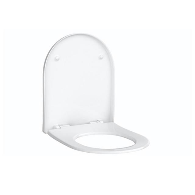Geberit Acanto WC-Sitz Slim mit Deckel mit Absenkautomatik