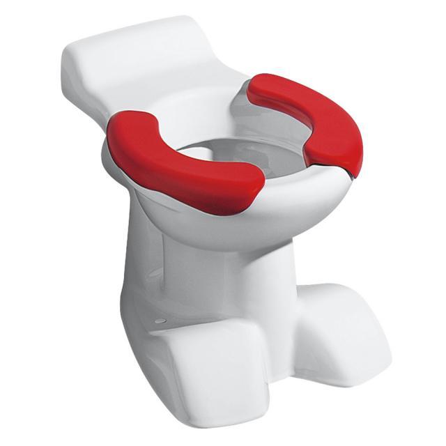 Geberit Bambini Stand-Tiefspül-WC mit Sitzfläche weiß/rot