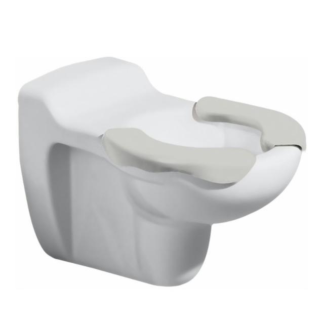 Geberit Bambini Wand-Tiefspül-WC mit Sitzfläche weiß/grau