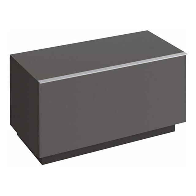 Geberit iCon Seitenschrank mit 1 Auszug Front lava matt / Korpus lava matt