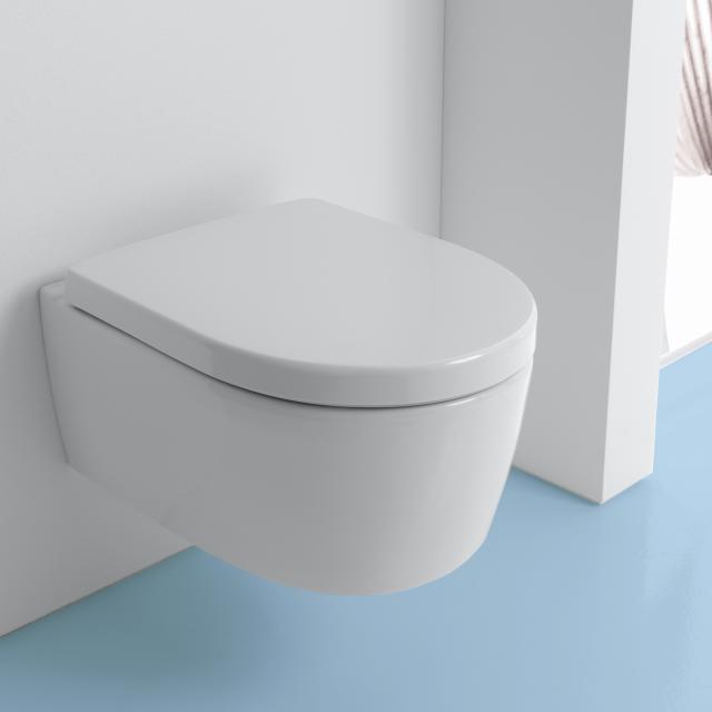 Geberit iCon Wand-Tiefspül-WC ohne Spülrand, weiß
