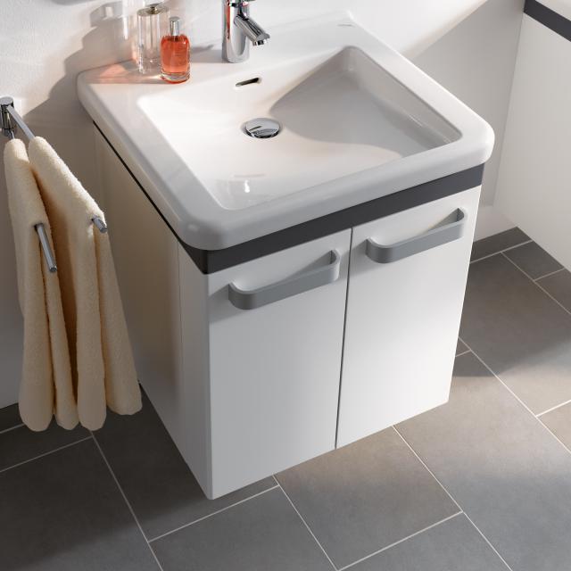 Geberit Renova Comfort Waschtischunterschrank Zierleiste graphit matt