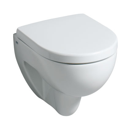 Geberit Renova Compact Wand-Tiefspül-WC, Ausführung kurz weiß, mit KeraTect