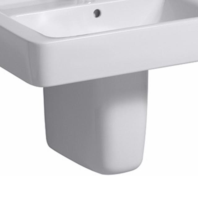 Geberit Renova Plan Halbsäule für Waschtisch weiß mit KeraTect