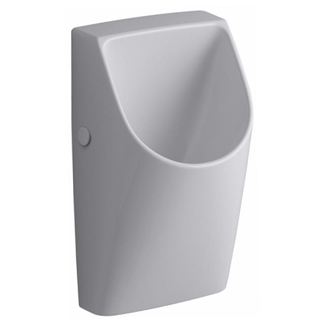 Geberit Renova Plan Urinal, wasserlos, ohne Zulauf weiß mit KeraTect