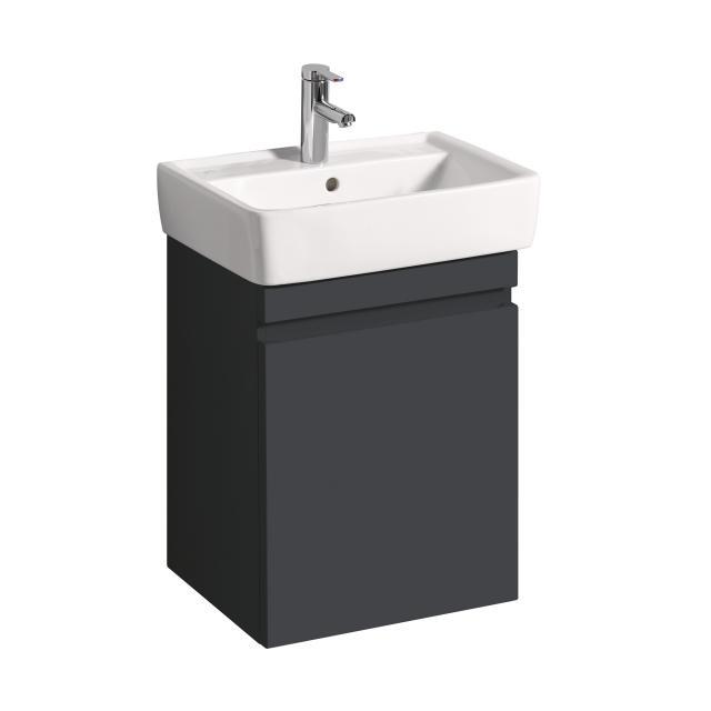 Geberit Renova Plan Waschtischunterschrank mit 1 Auszug Front und Korpus lava matt