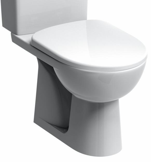 Geberit Renova Stand-Tiefspül-WC für Kombination weiß, mit KeraTect, Abgang senkrecht