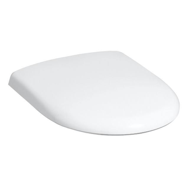 Geberit Renova WC-Sitz mit Deckel weiß Scharniere edelstahl
