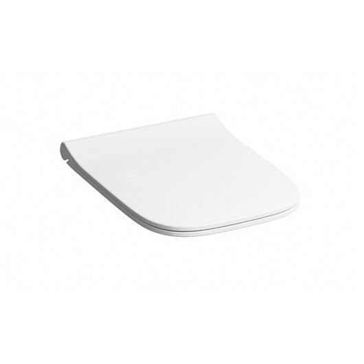 Geberit Smyle Square WC-Sitz, schmales Design, Sandwichform mit Absenkautomatik