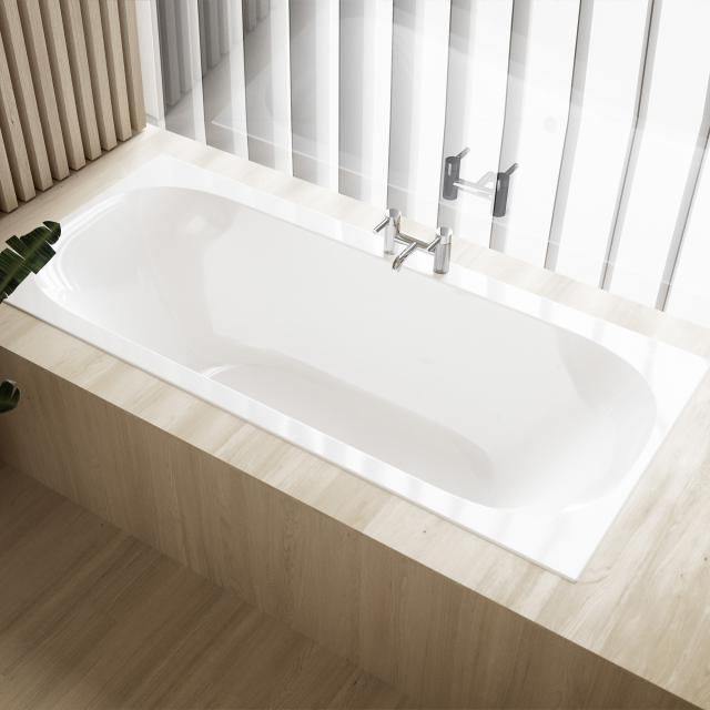 Geberit Soana Duo Rechteck-Badewanne, Einbau