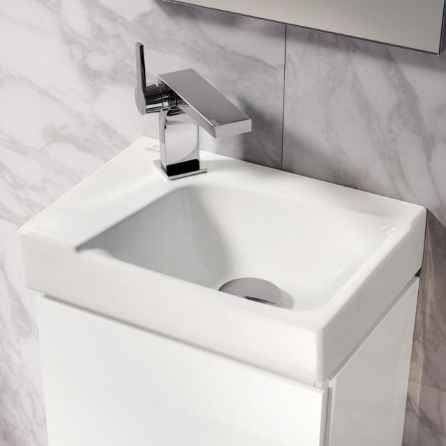 Geberit Xeno² Handwaschbecken weiß, mit KeraTect