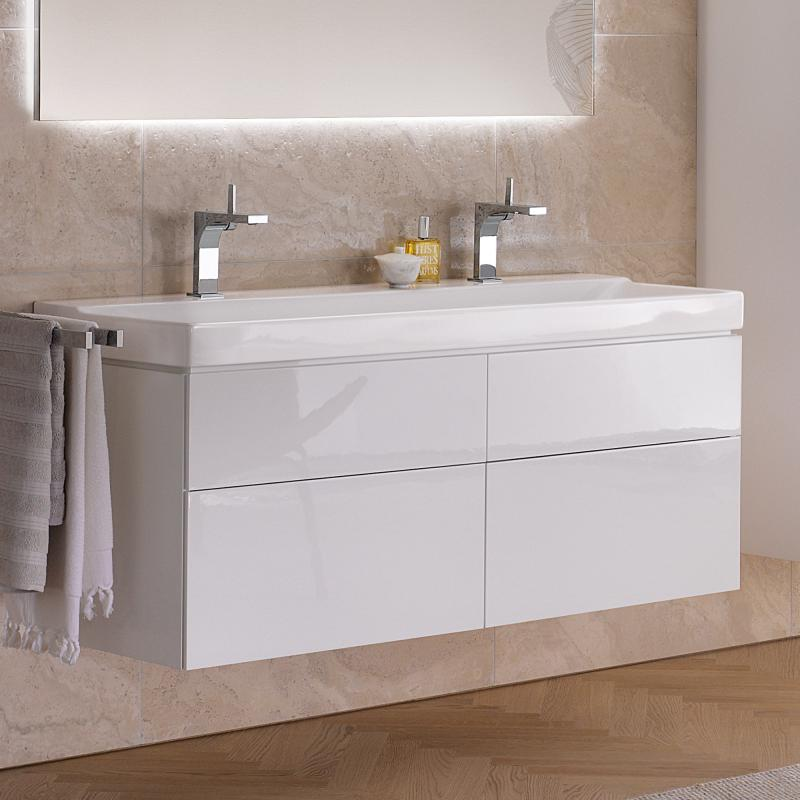 Geberit Xeno Waschtisch Weiß Mit Keratect 500550011 Reuter
